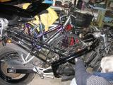Донор - итальянский мотоцикл Cagiva Freccia C12R 1990 года выпуска