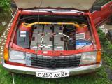 Opel Monza электро - моторный и передний батарейный отсек