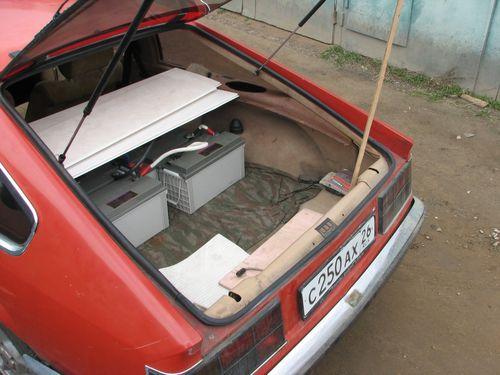 Opel Monza электро - задний батарейный отсек