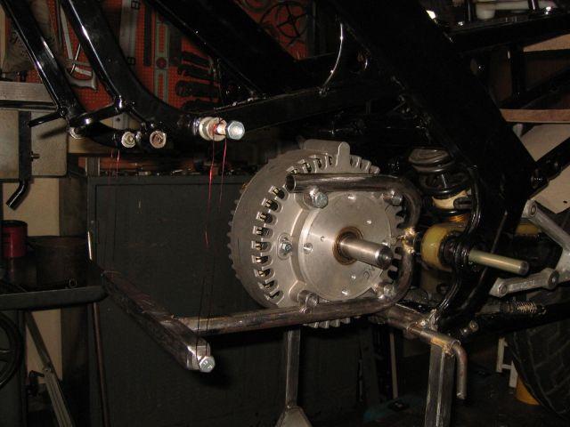 Крепление электродвигателя ElectroCat