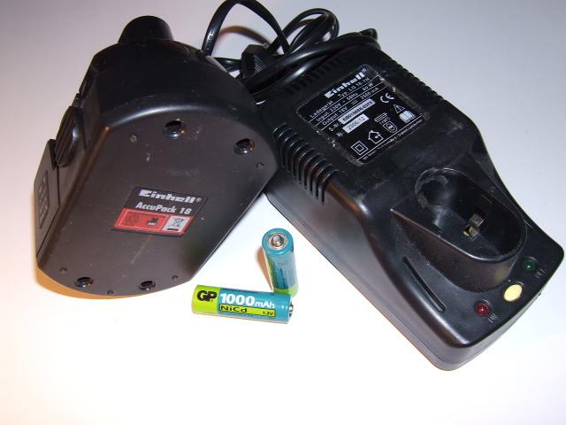 Никель-кадмиевые аккумуляторы и зарядное