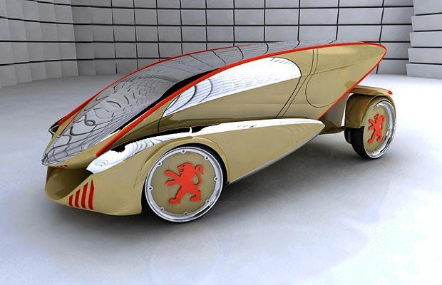 Concept Car Peugeot Verde