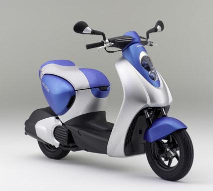Прототип гибридного скутера Honda Numo