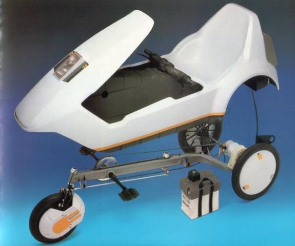Sinclair C5 - рама и кузов