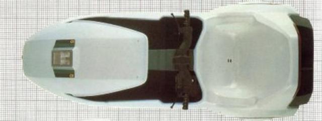 Sinclair C5 - вид сверху