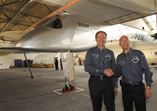 Solarimpulse - рекордный электросамолет для кругосветного перелета