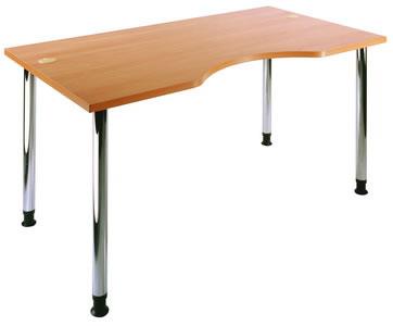 Простой эргономичный стол